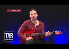 Урок гитары прием в стиле Jimmy Herring