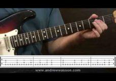 Урок гитары роковые риффы (дорийский лад)