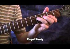 Урок гитары упражнения средней сложности
