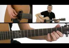 Урок игры на акустичекой ритм-гитаре