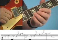 Урок игры на гитаре - Мелодичный блюз