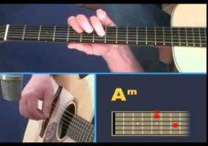 Урок игры на гитаре House of the Rising Sun