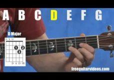 Урок игры на гитаре аккорды