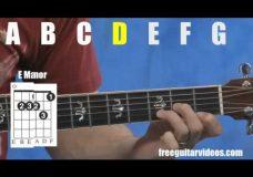 Урок игры на гитаре базовые аккорды