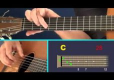 Урок игры на гитаре (для начинающих) Love Me Tender