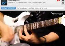 Урок игры на гитаре от Steve Vai