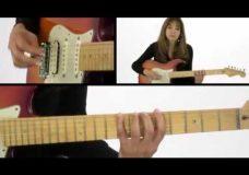 Урок игры на гитаре пентатоника