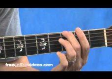 Урок игры на гитаре правильная постановка пальцев
