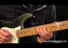 Урок игры на гитаре простое соло (мажорная и минорная пентатоники)