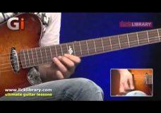 Урок игры на гитаре стиль Richie Kotzen