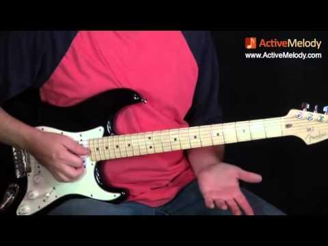 Урок игры на гитаре стиль гитариста Элвиса - Скотти Мура