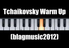 Урок вокала распевка по мотивам Чайковского