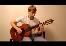 Уроки игры на гитаре. Учимся играть аккорды баррэ. Как научиться играть на гитаре.