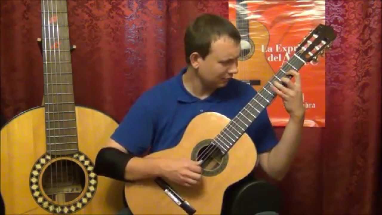 Видео обзор гитары Alhambra 5P (guitar review)