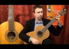 Видео обзор классической гитары Alhambra 2c (review).
