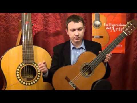 Видео обзор классической гитары Alhambra Linea Professional (guitar review).