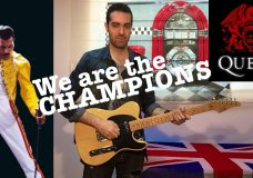 We are the champions — Instrumental guitar cover (Queen)