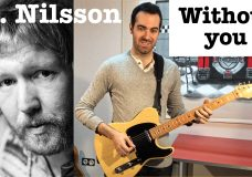 Without you — Harry Nilsson Guitar cover
