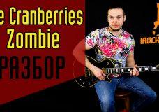 Zombie -The Cranberries. Как научиться играть на гитаре песню ZombieУрок Разбор Аккорды