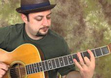acoustic blues scale — fun, easy beginner guitar