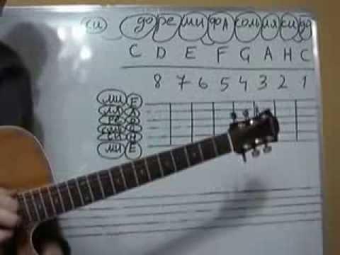 Аккорды для гитары для новичков