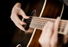 Акустическая гитара фото