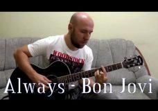 Always — Bon Jovi Fingerstyle Guitar Cover