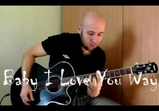Baby I Love Your Way — Fingerstyle Guitar Cover