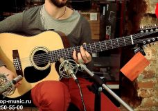 Электроакустическая гитара MARTINEZ FAW 802 12CEQ