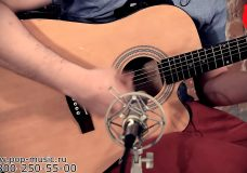 Электроакустическая гитара STAGG SA40DCFI