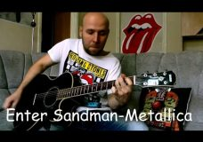 Enter Sandman — Metallica Fingerstyle Guitar Cover