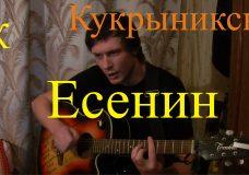 ЕСЕНИН (Пой мой друг) — Кукрыниксы (А.Горшенёв) БойПРАВИЛЬНЫЕ аккорды (КАВЕР)