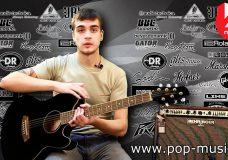 Гитара электроакустическая IBANEZ TCY10E BLACK