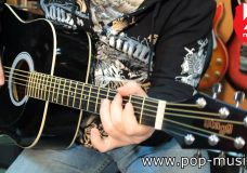 Гитара электроакустическая STAGG SW201-BK VT