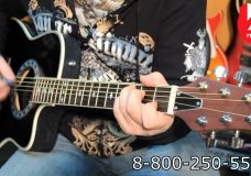 Гитара электроакустическая STAGG A4006 BK