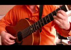 Гитара. упражнение в стиле румба