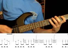 Heavy Metal Guitar Riff Drop B
