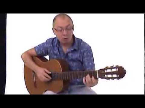 Игра аккордами на гитаре, упражнение