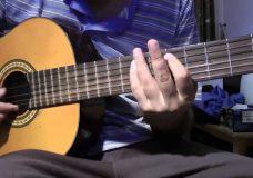 игра на басовых струнах 1 упражнение