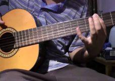 игра на басовых струнах 4 упражнение