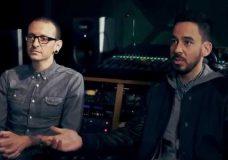 Интервью с Linkin Park в Guitar Center