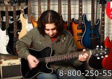 Гитара JAMES NELIGAN EW3000CBK