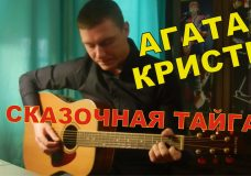 Как играть Агата Кристи — СКАЗОЧНАЯ ТАЙГА (разбор песни)