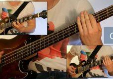 Как играть на бас гитаре Лесник — Король и шут ( видеоурок Guitar riffs) табы