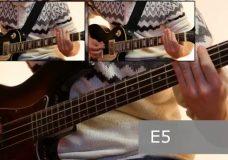 Как играть на бас гитаре Мертвый анархист — Король и шут ( видеоурок Guitar riffs) табы
