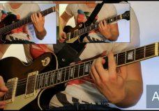 Как играть на гитаре Лесник — Король и шут ( видеоурок Guitar riffs) табы