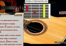 Как играть на гитаре Макс Корж — Мотылек