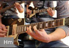 Как играть на гитаре Марионетки — Король и шут ( видеоурок Guitar riffs) табы