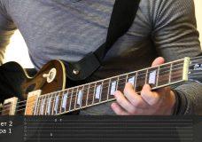 Как играть на гитаре Утопленник — Король и шут ( видеоурок Guitar riffs) табы
