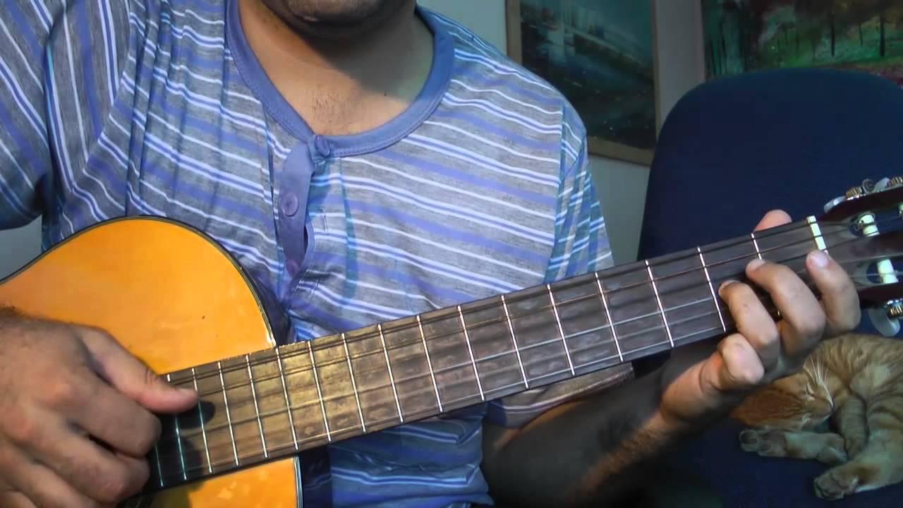 красивая и легкая мелодия на гитаре неизвестного автора.